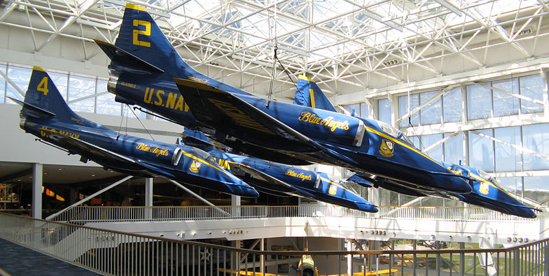 A-4F_Skyhawk_(Blue_Angels),_Naval_Aviation_Museum,_Pensacola,_Florida.jpg
